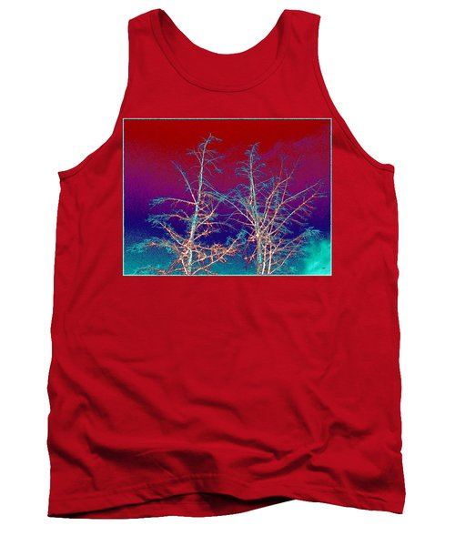 Treetops 4 Tank Top by Will Borden