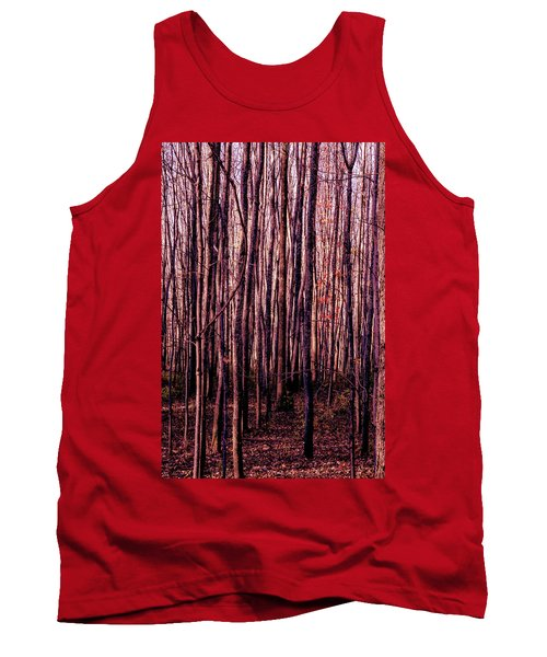 Treez Red Tank Top