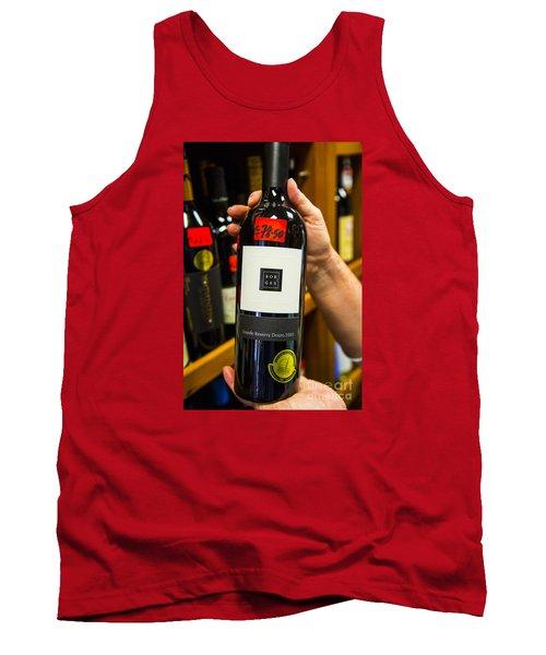 Tremendous Wine Tank Top by Rick Bragan