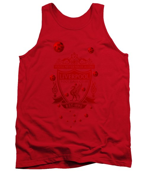 Tank Top featuring the digital art Tribute To Liverpoo 2 by Alberto RuiZ