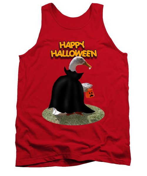 Trick Or Treat For Count Duckula Tank Top