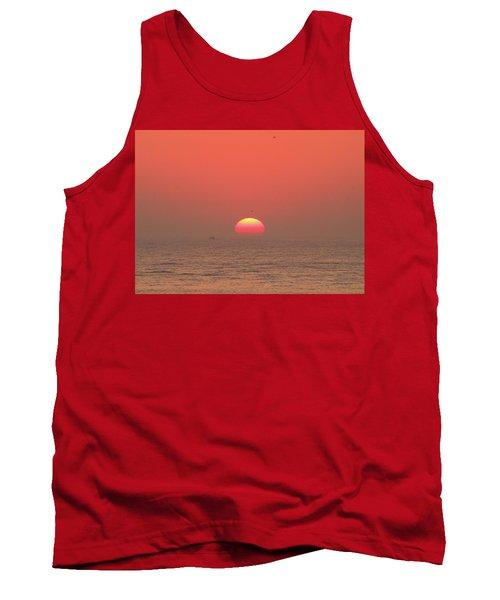Tricolor Sunrise Tank Top