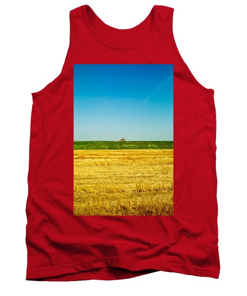 Tricolor With Tractor Tank Top