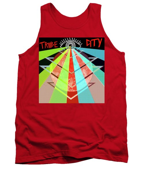 Triiibe City For Bxdizzy419 Tank Top by Chief Hachibi