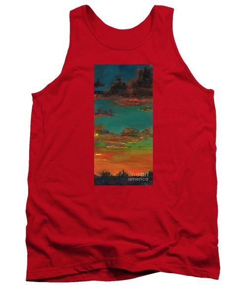 Triptych 3 Tank Top by Frances Marino
