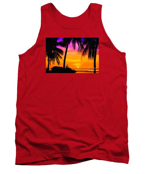 Tropical Delight Tank Top by Scott Cameron
