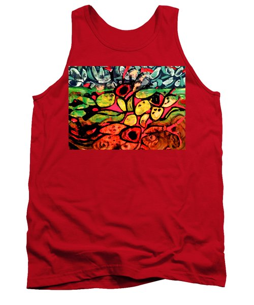 Tropical Garden Tank Top