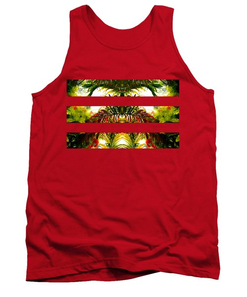 Tropical Kaleidoscope Tank Top