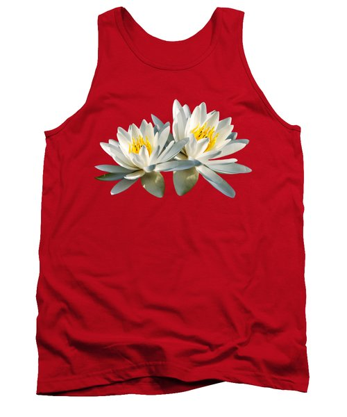 Tropical Water Lily Tank Top