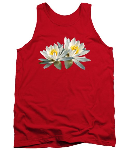 Tank Top featuring the photograph Tropical Water Lily by Christina Rollo