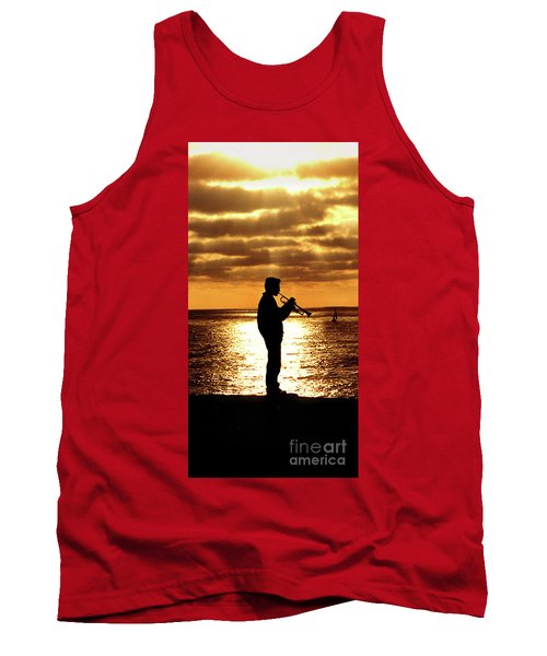Trumpet Player Tank Top