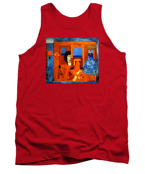 Trying To Find The Way Out Or Is It Better To Stay   Tank Top by Colette V Hera  Guggenheim