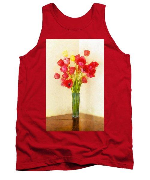 Tulip Bouquet Tank Top