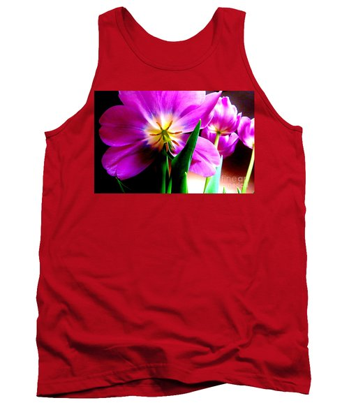 Tulip Time Tank Top by Tim Townsend