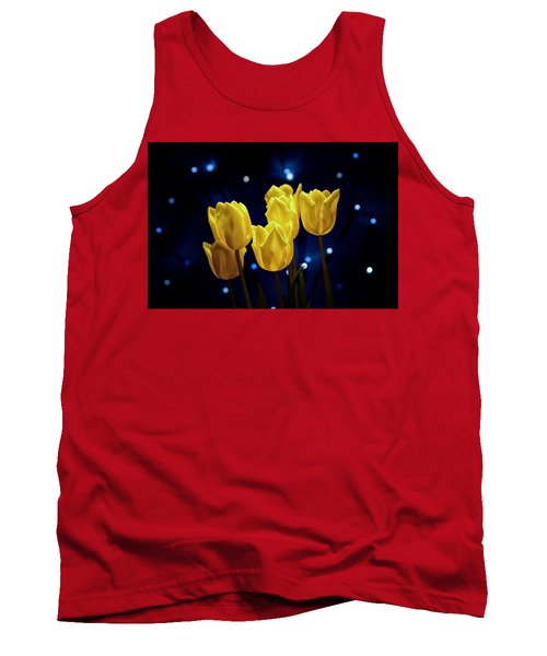 Tank Top featuring the photograph Tulip Twinkle by Tom Mc Nemar