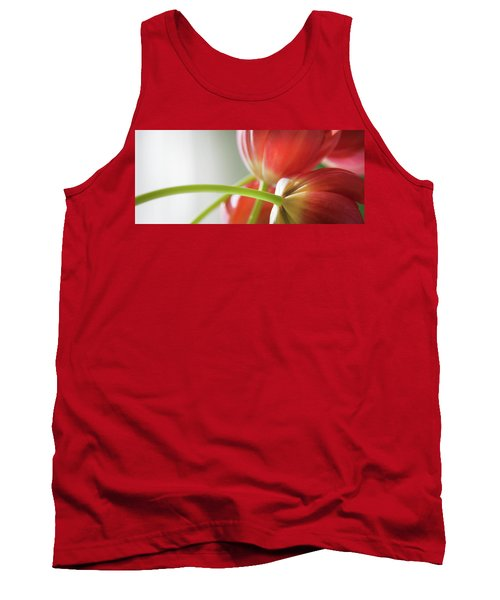 Tulips In The Morning Tank Top by Theresa Tahara