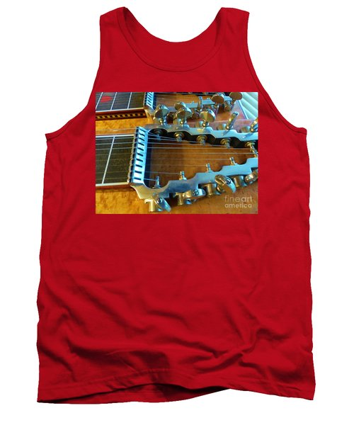 Tuning Pegs On Sho-bud Pedal Steel Guitar Tank Top