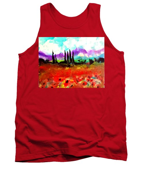 Tuscany Fields Tank Top