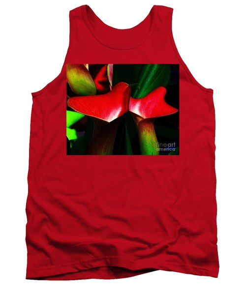 Tank Top featuring the photograph Twins by Elfriede Fulda