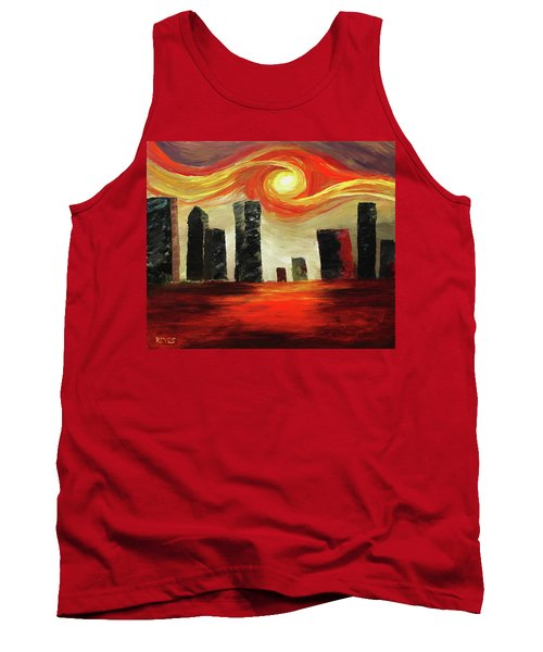 Twisted City Tank Top