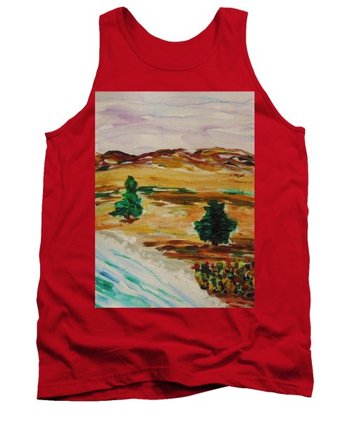 Two Cedars By The Sea Tank Top