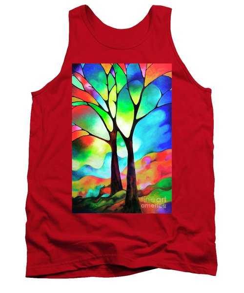 Two Trees Tank Top by Sally Trace