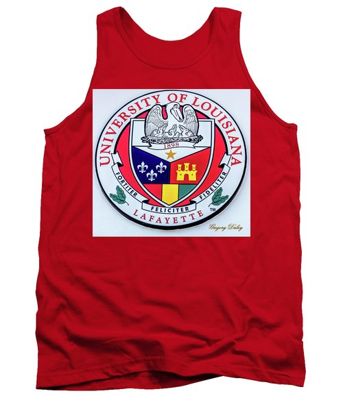 Ul Seal Tank Top by Gregory Daley  PPSA