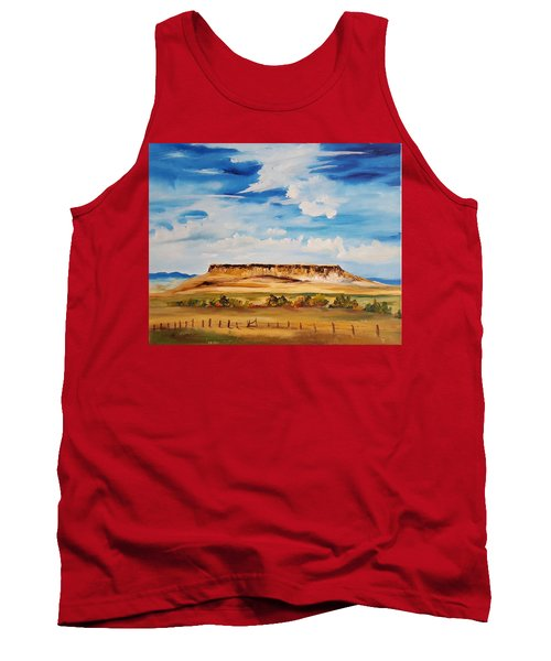 Ulm Montana First People's Buffalo Jump   93 Tank Top