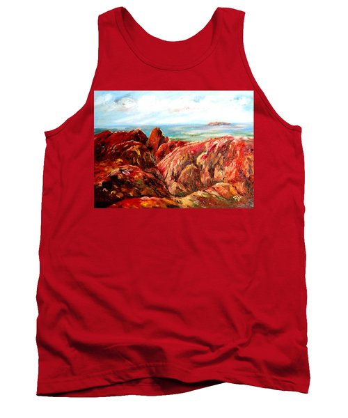 Uluru Viewed From Kata Tjuta Tank Top