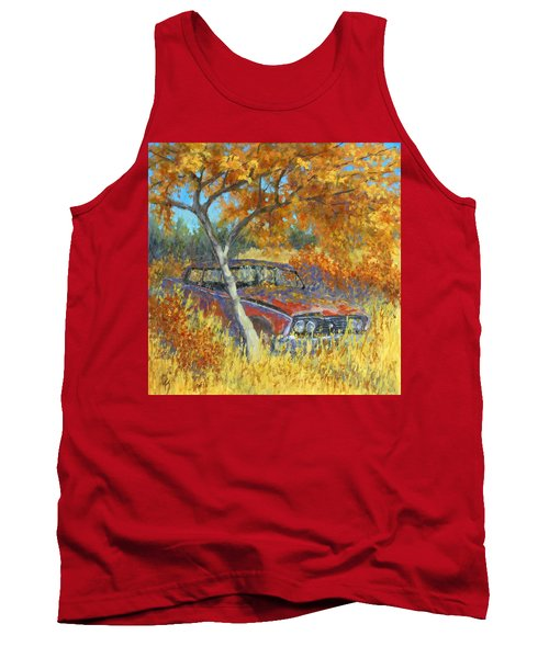Under The Chinese Elm Tree Tank Top