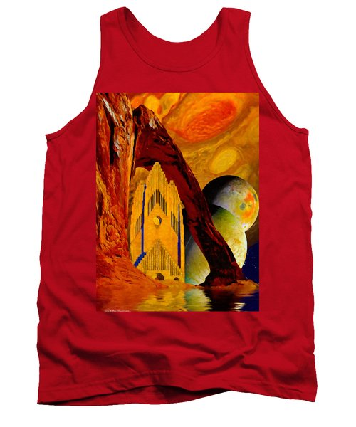 Under The Giants Eye Tank Top