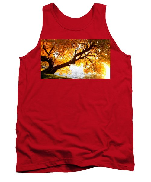 Under The Yellow Tree Tank Top