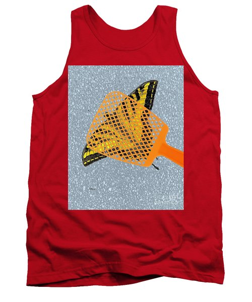 Tank Top featuring the digital art Unforgiveable by Patrick Witz