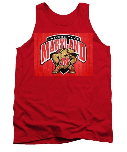 University Of Maryland Barn Door Tank Top