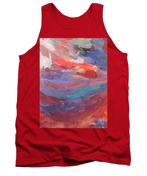 Untitled 96 Original Painting Tank Top