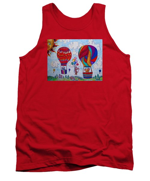 Up Up And Away Tank Top by Megan Walsh
