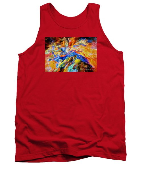 updated Our God is a Consuming Fire Tank Top