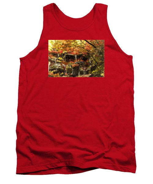 Upper Catawba Falls North Carolina Tank Top