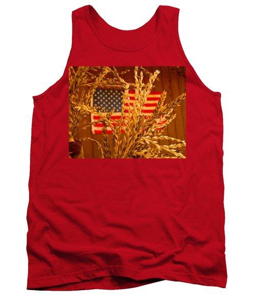 U.s. Wheat Tank Top