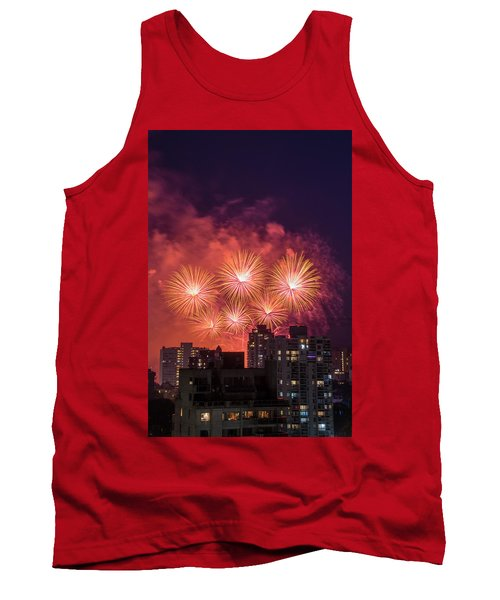 Usa 3 Tank Top by Ross G Strachan
