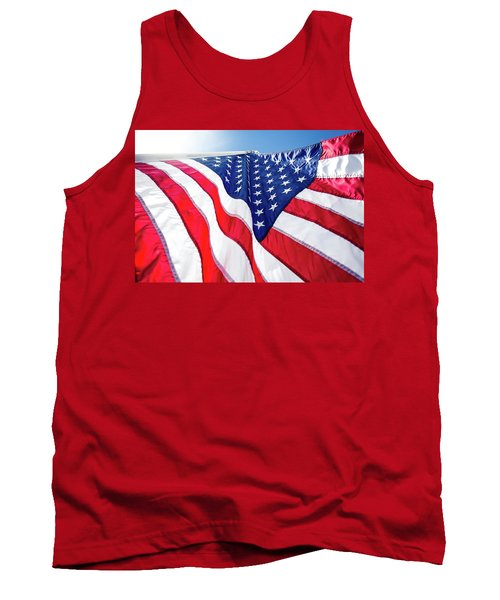 Usa,american Flag,rhe Symbolic Of Liberty,freedom,patriotic,hono Tank Top by Jingjits Photography