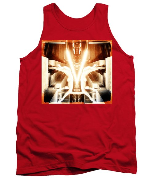 V For Victory Tank Top by Andrea Barbieri