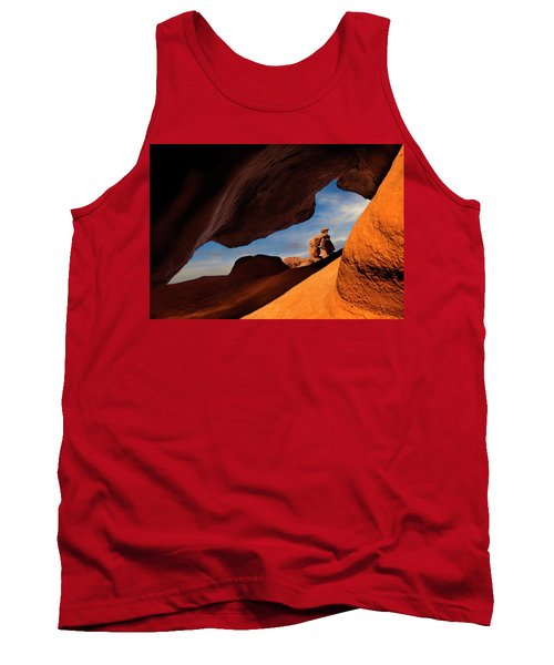 Valley Of Fire Look Through Tank Top