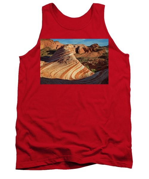 Valley Of Fire Xiv Tank Top