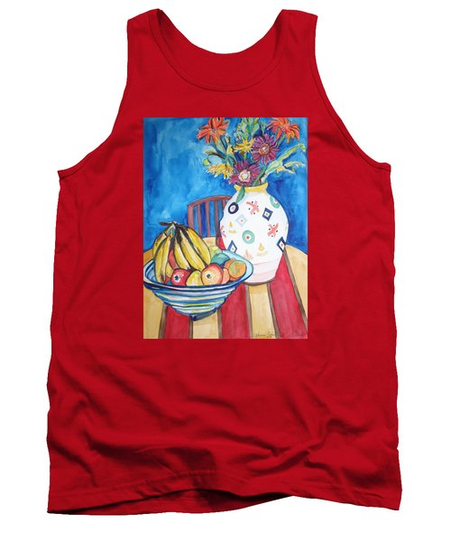 Vase And Bowl Tank Top by Esther Newman-Cohen