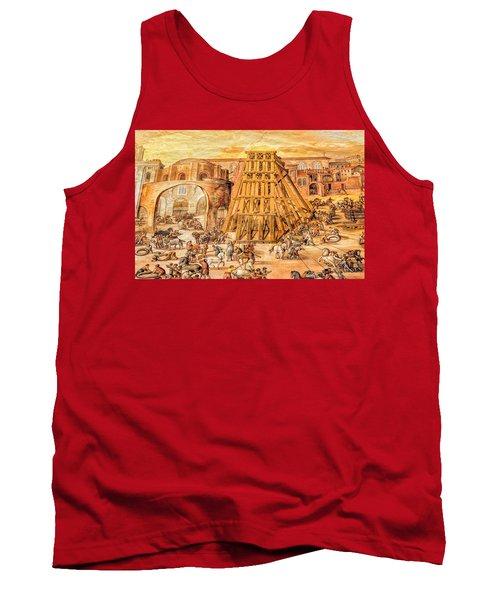 Vatican Obelisk Tank Top