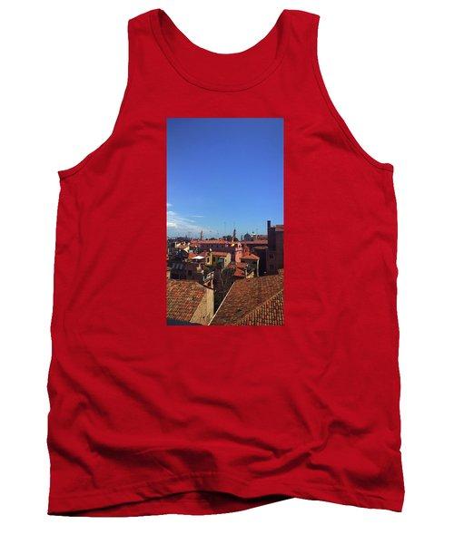Tank Top featuring the photograph Venetian Skyline by Anne Kotan