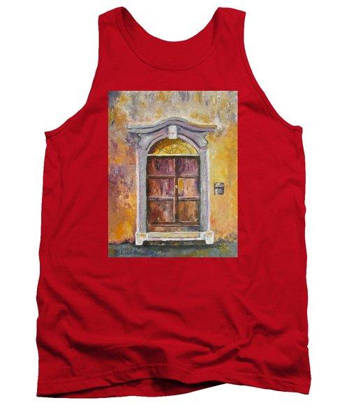 Venice Door Tank Top by Lisa Boyd