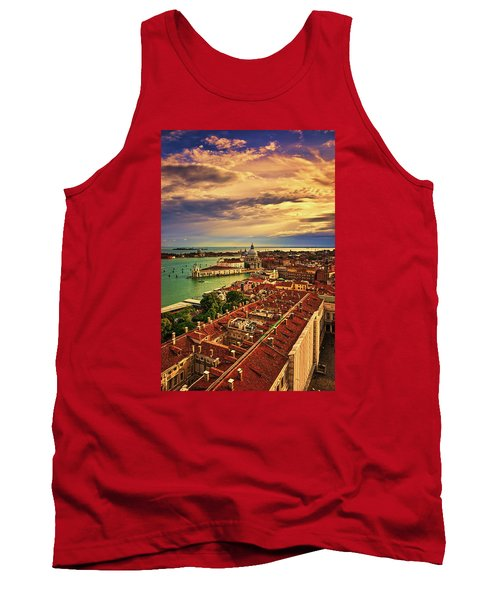From The Bell Tower In Venice, Italy Tank Top