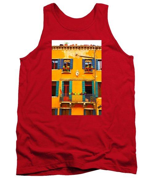 Venice Street Scene 1 Tank Top